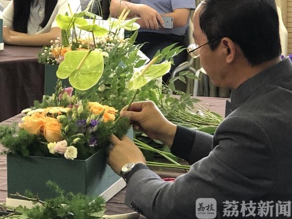 鲜花与心灵的美丽邂逅!这所大学教学生插花感悟人生