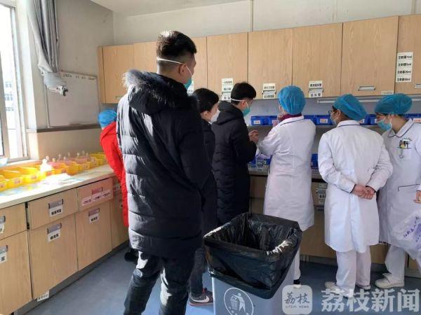 直通黄石 江苏省支援黄石医疗队正式接管阳新县人民医院ICU
