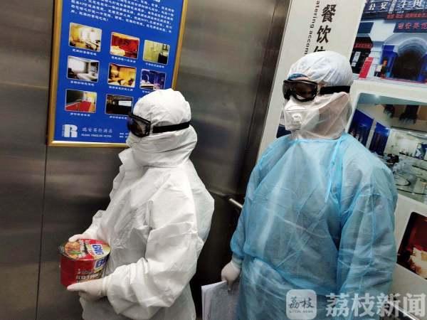 寒冬逆行,南通如东这位95后姑娘在武汉做志愿者