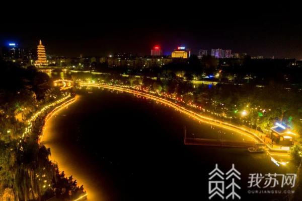 """夜钓点亮凤城河…… 泰州举办""""凤城河夜太美杯""""夜钓大赛"""