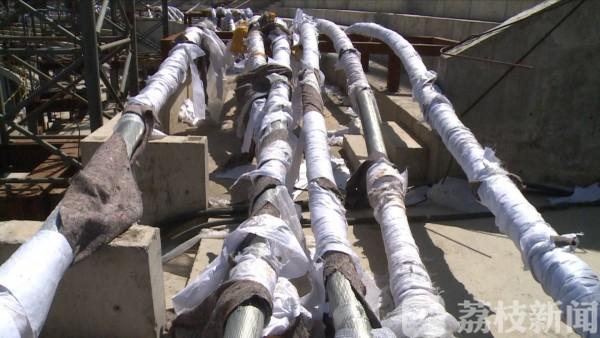 """泰州""""鸟巢""""加快建设进度确保工程如期交付"""