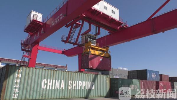 徐州水运外贸集装箱航线恢复全面开航 助力进出口贸易
