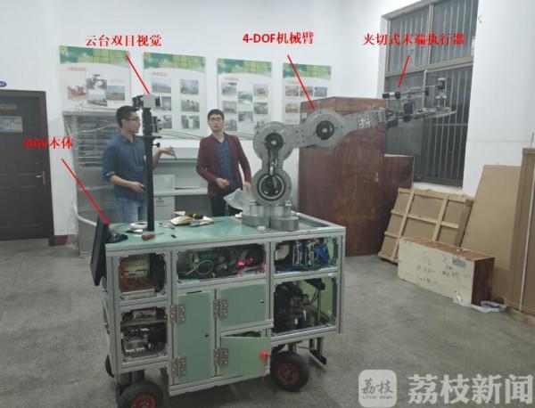 """機器人採茶_机器人能采茶、喷雾、摘葡萄这是要让农民""""解放双手""""的"""